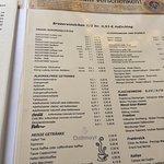 Zum Augustiner - beer menu