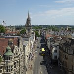 view from Carfax Tower down the High Street