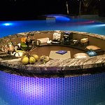 Minibar and Infinity swimming pool