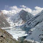 Sheshnag lake in full glory.