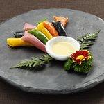 자연식 구절말이 / natural roll with nine delicacies / 自然食九切巻き / 自然食卷九绝 / / Korean Traditional Food