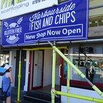 Harbourside dedicated fish & chip shop