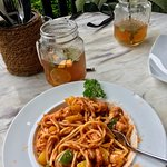Spaghetti Marinara...as good as I've had anywhere!