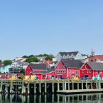 View of Lunenburg from the Eastern Star