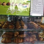 The pastry shelf