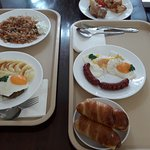 Bread Rolls, Meat with Eggs n potato