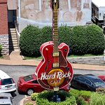 Hard Rock Guitar from the rooftop of Acme Feed and Seed