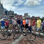 "Group ""Summits"" on Bike Bridge"