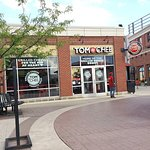 Exterior of Tom + Chee