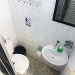 Banheiro constantemente limpo e organizado