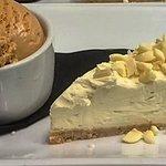 White chocolate and vanilla Cheesecake of the day