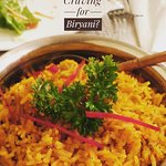 Try our wide range of Biryani from the Indian Menu