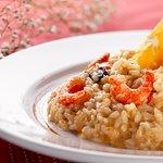 Prato do jantar: Risoto de Camarões