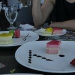 Colorful and pretty dessert