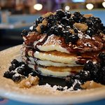 Blueberry Cobbler Pancakes