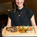 Chef's steak tasting platter