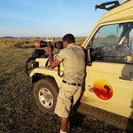 Our professional driver guide in Serengeti National Park