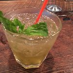 Watered down Mint Julep