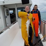 The cod we threw back because we had plenty to eat.
