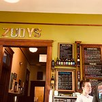 Beautiful day and breakfast at Zudy's Cafe in Seward