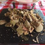 Meat with truffles
