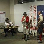 Exhibits of America Flags thru History