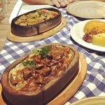 Hurem's suntan favorite & lamb meat with aubergine