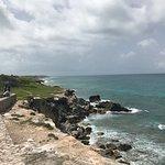 Beautiful coast of Isla Mujeres