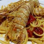 Spaghetti con cicale