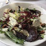 Apple and Endive salad with Blue Cheese