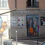 Street level paintings