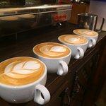 Varios cafes
