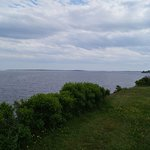 Vue sur la mer à partir du site