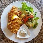 Knuspriger Barsch | Kartoffelsalat
