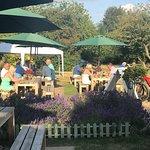 The Cherry Tree garden @ Stoke Row