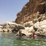 Cooling off in the water... Khalfan took so many pictures for us