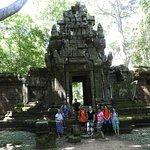 trekking activities through the temple