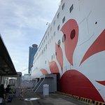 さんふらわあ  さつまの新造船に合わせて、キレイになってます。