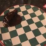 Kids brownie...on a side plate