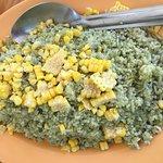 Cilantro lime rice and corn