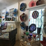 Some of the many beautiful large pieces for sale created here.