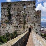 Moorish Castle walkway entrance...Gibraltar.