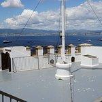 Moorish Castle view of the Bay of Algeciras....