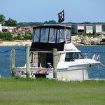 Pirate ship at Thundercat dock