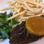 Steak cafe de Paris with frites!