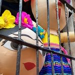Frida and the Mexican maria doll in jail