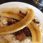 Banana Brûlée Oatmeal - looks like it has an oatmeal texture but strangely pasty