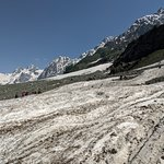 Commercial activities are ruining the ecologically sensitive glacier