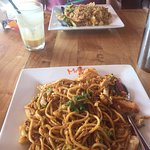 we enjoyed nasi goreng and mee goreng