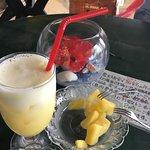 パイナップルジュースとスナックパイン